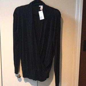 Black sweater (shear)
